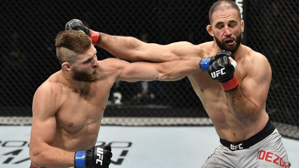 Прохазка жестко нокаутировал соперника в дебютном бою UFC